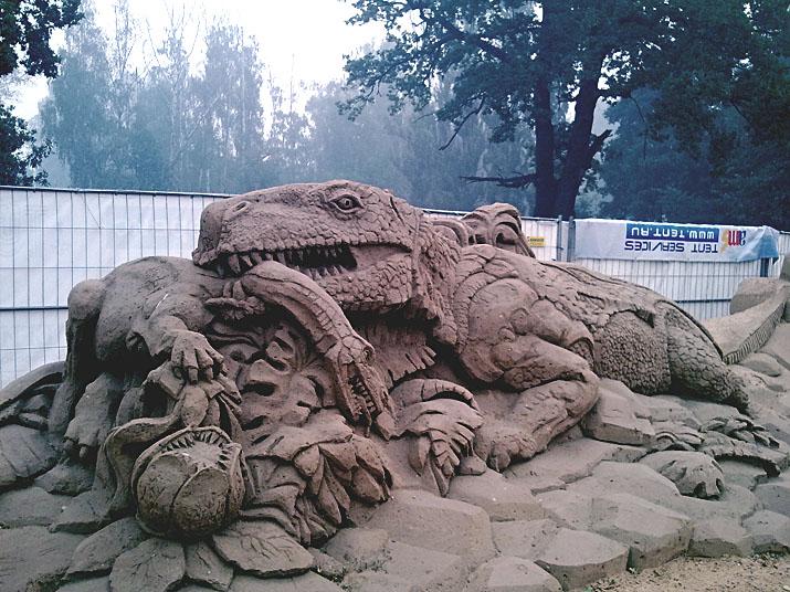 Международный фестиваль песчаной скульптуры на ВВЦ (ВДНХ) 2010 4b88c43dd9b0