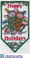 """Happy Holidays""  Dimensions 76b02f90d853t"