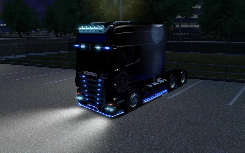 Scania LongLine Işıklı 64ae973bb465