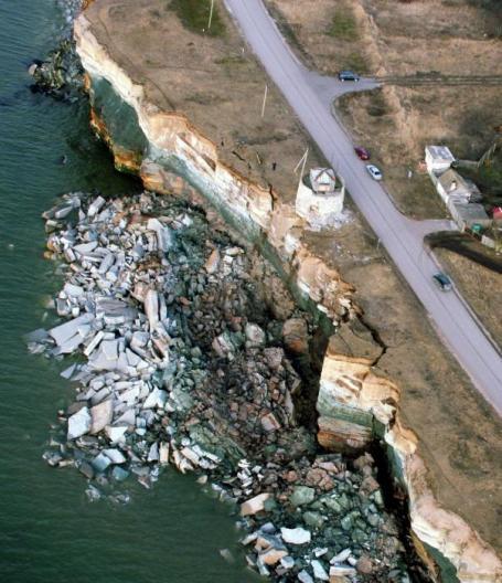 Обвал глинта на полуострове Пакри в Марте 2008 года. (Видео и фото) B445dbfb6a15