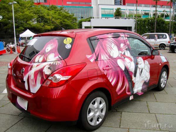 Автомобили в стиле аниме 171a8b2b8b76