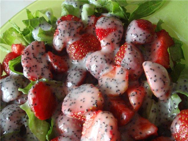 Салат с листьями салата и клубникой - Страница 2 36b6465fa496