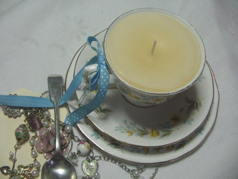 Как сделать свечу в чашке 8dabe9789b34