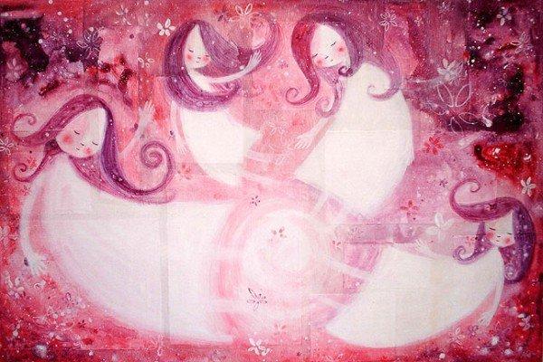 Рисунки детства от May Ann Licudine B4b24e654bf7