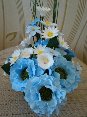 Цветы ручной работы из полимерной глины E24f63769749