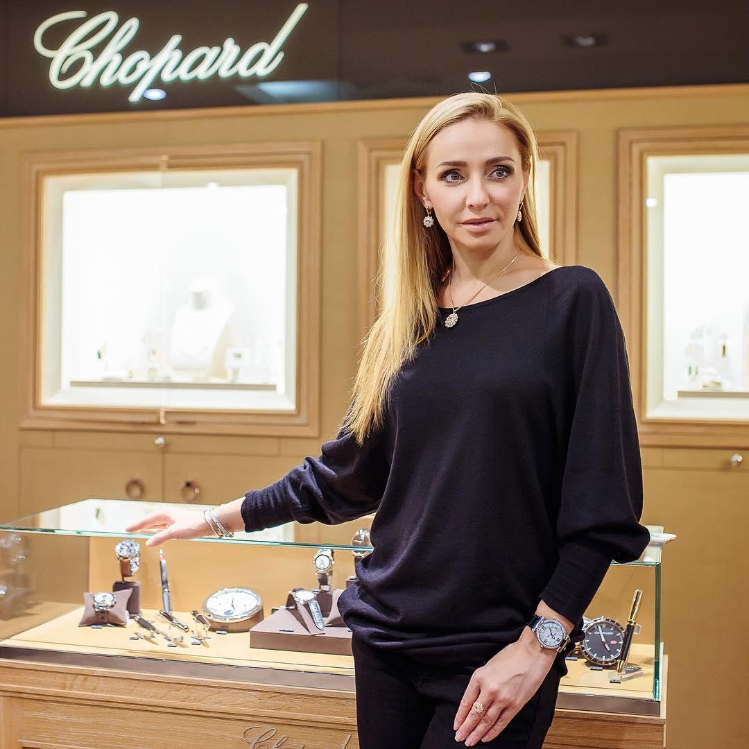 Татьяна Навка - официальный посол бренда Chopard - Страница 2 C141704da282