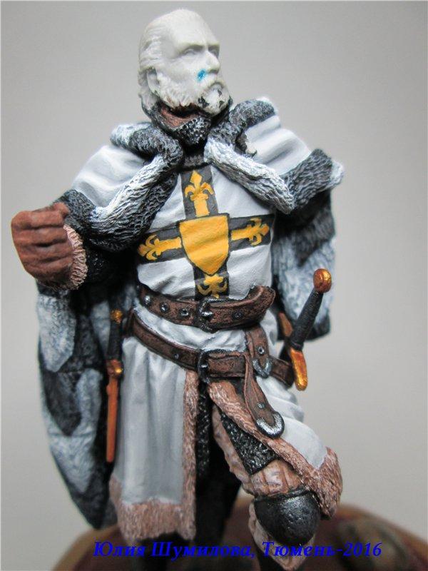 Великий Магистр Тевтонского ордена, 14в.. На Конкурс по росписи миниатюры. 2553c2ee6743