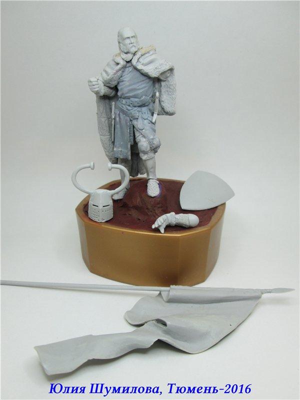 Великий Магистр Тевтонского ордена, 14в.. На Конкурс по росписи миниатюры. Cbf3811a5acb