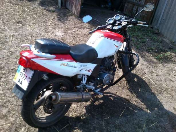 Обменяю мотоцикл Zongshen ZS200GS на велосипед 8cefb0f81b93