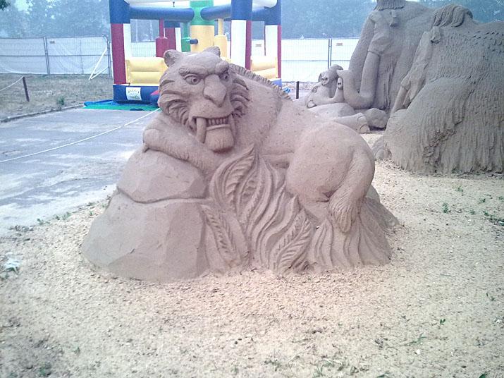 Международный фестиваль песчаной скульптуры на ВВЦ (ВДНХ) 2010 5b01eb738332