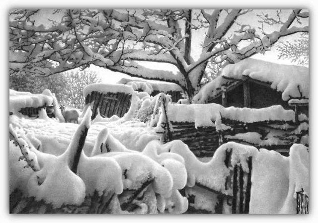 Снег, согревающий душу (Доленджашвили Г.) 23a46c237470
