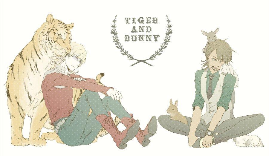 Tiger & Bunny (сенен ай) 0548f097364b