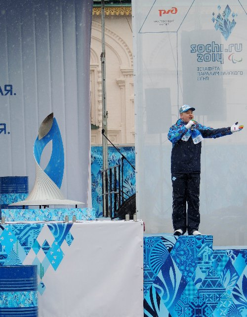 "Эстафета Паралимпийского огня ""Сочи 2014"" в г. Ярославле 38c00d6bd711"
