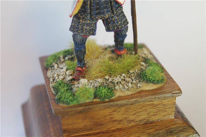 Самурай Датэ Масамунэ живший в 1566 – 1636 годах, 54мм. D1e6348451d5