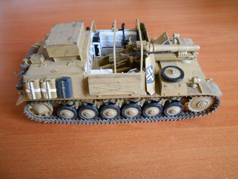Немецкое 150-мм самоходное орудие Штурмпанцер II 1/35 (Арк модел) 18adc4d97be3