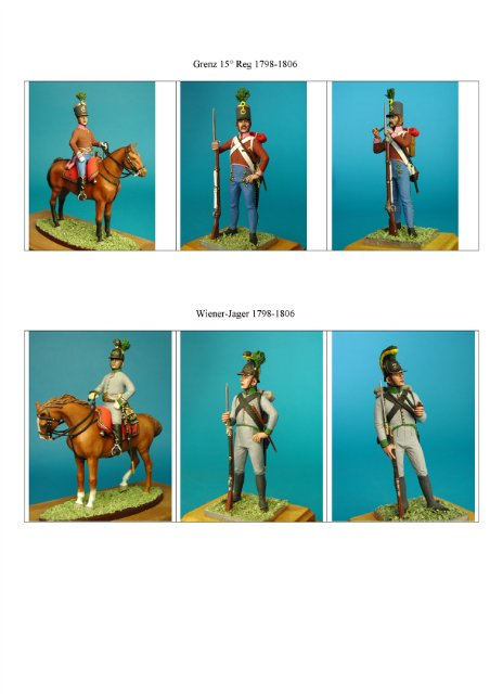 VID soldiers - Napoleonic austrian army sets 4ffcadfa4256