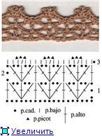 Обвязка края крючком и брители для топиков 42a2676e5a45t