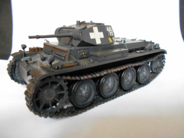 Pz.Kpfw.II Ausf.D 1/35 (Арк Модел) 66cf63178022
