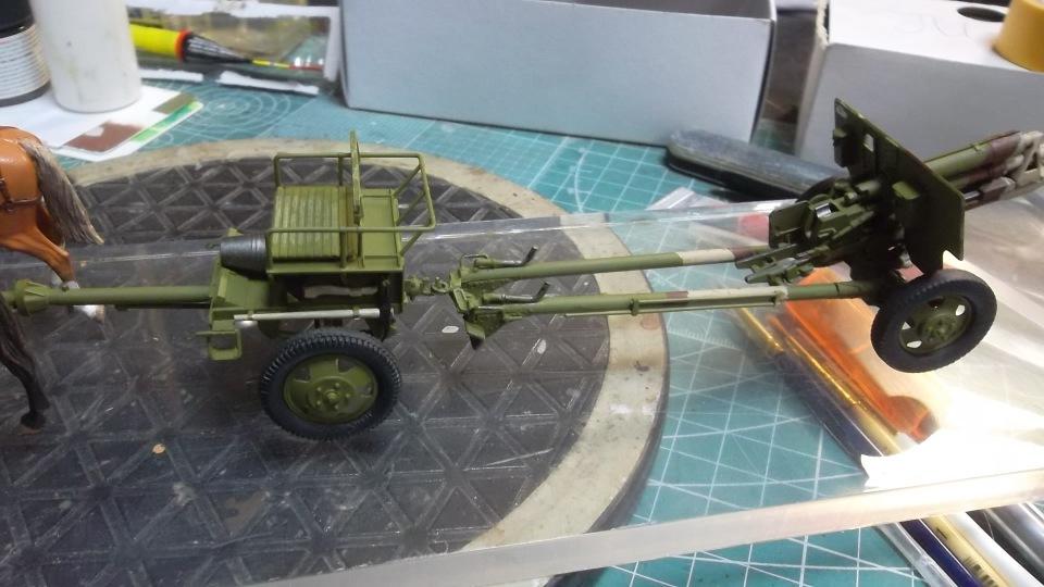 Советский артиллерийский передок 52-Р-353M, 1/35, (ICM 35481). - Страница 2 B2662f1e4499