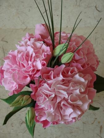 Цветы ручной работы из полимерной глины 56192c6098c3