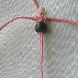 10 плетёных цепочек с бисером в технике макраме 8e66f5c27fa6