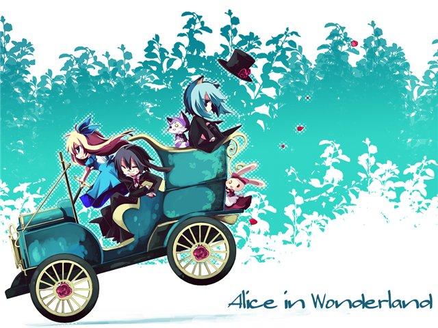 Арты на тему: 'Alice in Wonderland' Eec79ae354f1