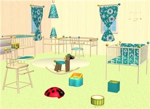 Комнаты для младенцев и тодлеров - Страница 2 9de419b9ab9a