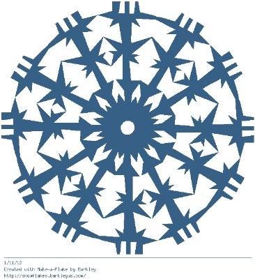 Зимнее рукоделие - вырезаем снежинки! - Страница 10 Cfee59560edb
