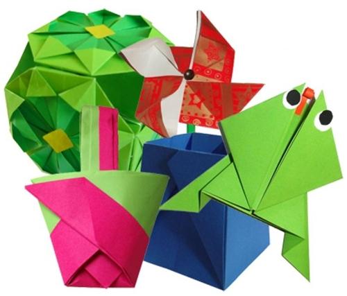Японское искусство - Оригами - Страница 2 6b3adc73f288