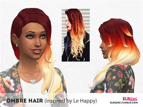 Прически для The Sims 4 Женские. 044e3c15c1af