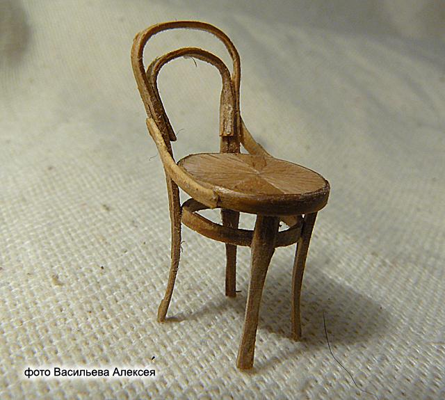 Старый венский стул масштаб 1:35 76e231a2bd22