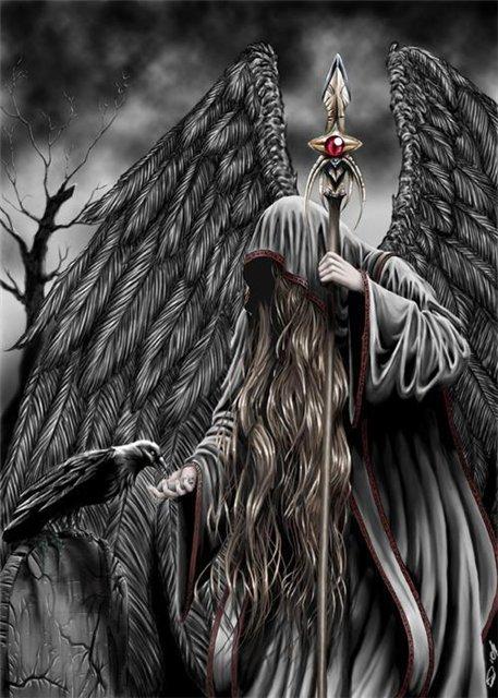 Арты на тему : Ангелы 5a23158f6337