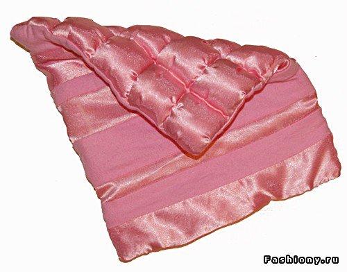 Шьем декоративное одеяло и подушку. Мастер-класс 9f5ef939219a