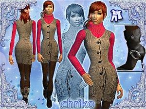 Повседневная одежда (платья, туники, комплекты с юбками) - Страница 4 684291abc9ce