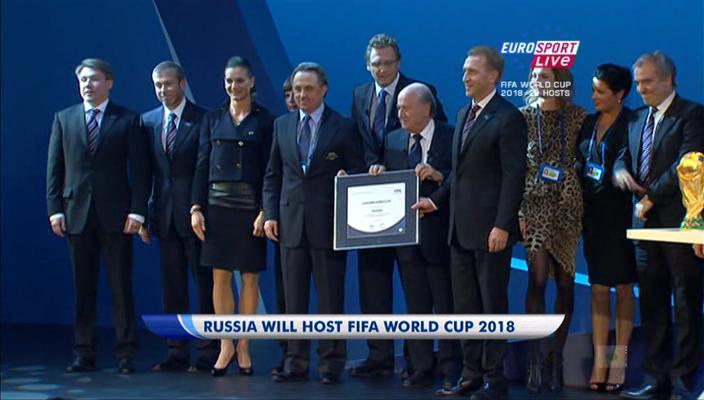 Чемпионат мира по футболу 2018 года пройдёт в России! 534966b94522