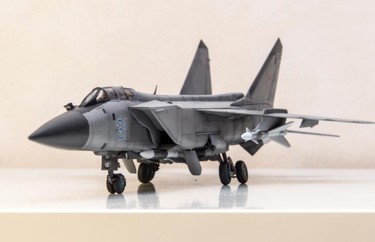 МиГ-31. Звезда, 1:72 586c1d6456d7