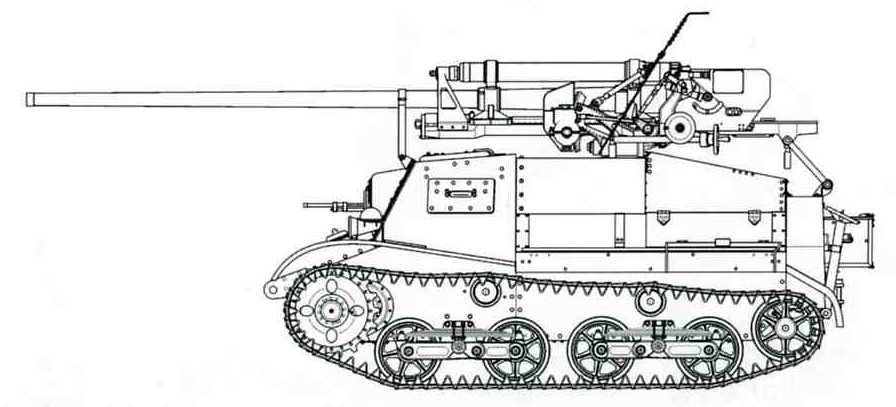 ЗиС-30 Противотанковая самоходная установка, 1/35, (MSD 35014). 0d95b453d185