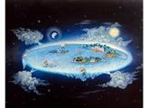 Плоская Земля и голографичность Луны
