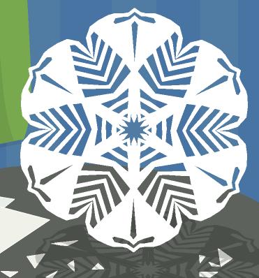 Зимнее рукоделие - вырезаем снежинки! 400785c3a56e