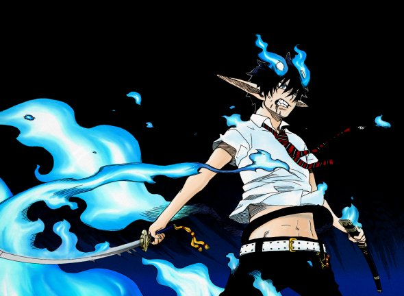 Мувик «Ao no Exorcist» 7f692bdf3287