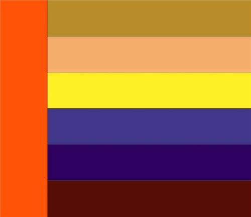 Как правильно сочетать цвета в одежде 1748ffe601e0