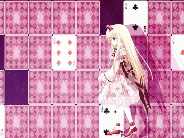 Арты на тему: 'Alice in Wonderland' Ea13c93485ba
