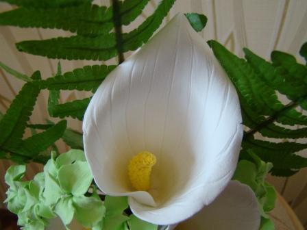 Цветы ручной работы из полимерной глины 2004b51b78d5