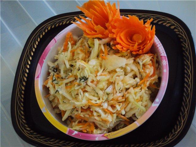 Овощной салат-ассорти с имбирной заправкой Efb24abcb185
