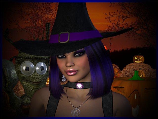 А вот и гости! - Персонажи Хеллоуина De9fbb04a084