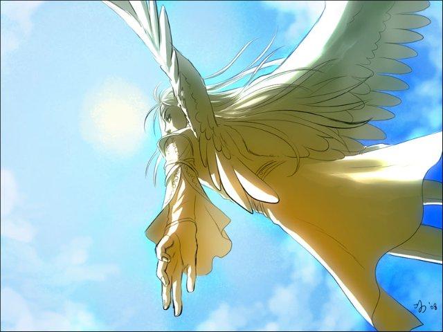 Арты на тему : Ангелы 41027f147d84