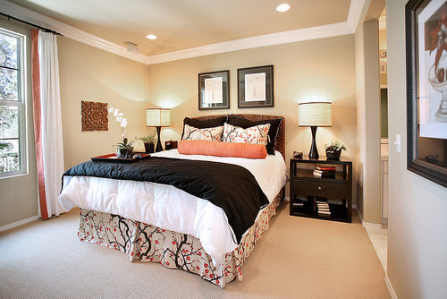 غرف نوم رائعة Bed-bedroom-flower-flowers-Favim.com-489638