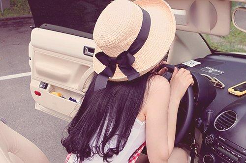 قبعات بنات روعة  Asian-black-bow-car-Favim.com-537066