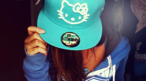 قبعات بنات روعة  Blue-cute-girly-hat-Favim.com-523307