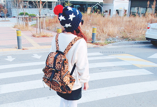 قبعات بنات روعة  American-bag-big-sweater-cheetah-Favim.com-626948